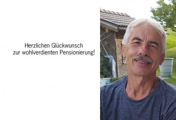 Pensionierung Josef Hintner
